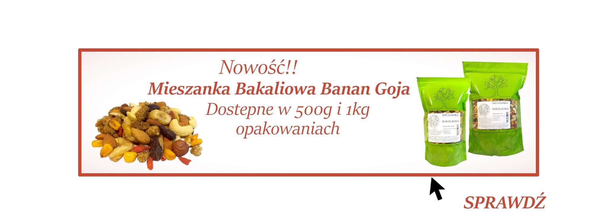 Mieszanka Studencka Bakaliowa Banan Goji